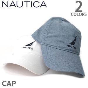 ノーティカ/Nautica HR8401 キャップ 帽子 Cap メンズ レディース ホワイト デニム ネコポスのみ送料無料|bobsstore