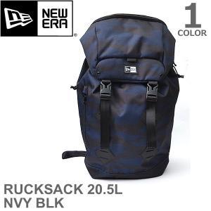 ニューエラ/NEW ERA RUCKSACK M 900D 2 TSC NVY BLK 20.5L ラックサック メンズ レディース バッグ リュック|bobsstore