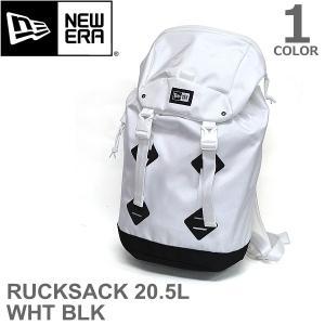 ニューエラ/NEW ERA RUCKSACK M 1680D 2 WHT BLK 20.5L ラックサック メンズ レディース バッグ リュック 小さ|bobsstore