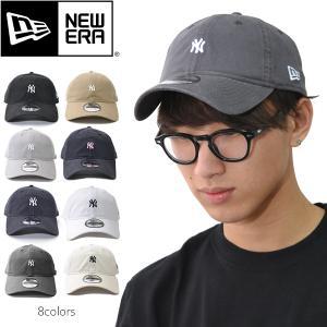 ニューエラ【NEW ERA】キャップ 9TWENTY 920 ニューヨークヤンキース ロゴ ミニロゴ 帽子 メンズ レディース サイズ調節可能  ネコポスのみ送料無料 bobsstore