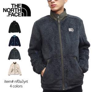 ノースフェイス【THE NORTH FACE】Men's Campshire Full-Zip Jacket NF0A3YRT もこもこ フルジップ ジャケット シェルパフリース   ロゴ  メンズ|bobsstore