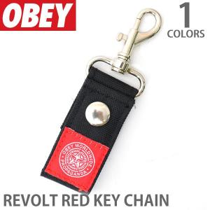 オベイ【OBEY】キーリング 100160014 キーチェーン キーホルダー キー 鍵 アクセサリー メンズ レディース 【メール便可】|bobsstore