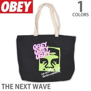 オベイ【OBEY】OBEY ARROW 100551686 トートバック メンズ BLACK|bobsstore