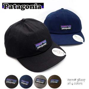 パタゴニア【patagonia】メンズ・P-6 ラベル・トラッド・キャップ P-6 Label Trad Cap 38207 帽子 サイズ調整可能 フリーサイズ【ネコポス発送のみ送料無料】
