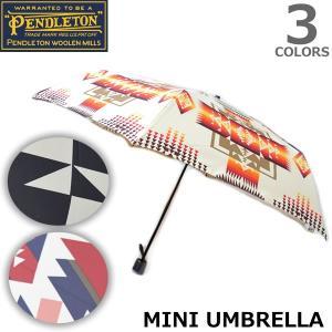 ペンドルトン【PENDLETON】MINI UMBRELLA 折り畳み傘 傘 アンブレラ ネイティブ柄 男女兼用 PDT-000-173214|bobsstore