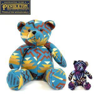 ペンドルトン【PENDLETON】テディーベア<BR>出産祝いにもおすすめ!/ bear /ネイティブ柄/PENDLETON 52691 52755|bobsstore
