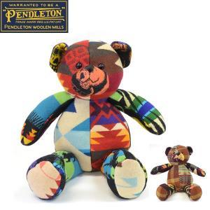 ペンドルトン【PENDLETON】テディーベア<BR>出産祝いにもおすすめ!/ bear /ネイティブ柄/PENDLETON 52968 52969|bobsstore