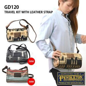 ペンドルトン/PENDLETON Travel Kit Wiht Leather Strap GD120 バッグ ショルダー 誕生日 ギフト お祝い bobsstore