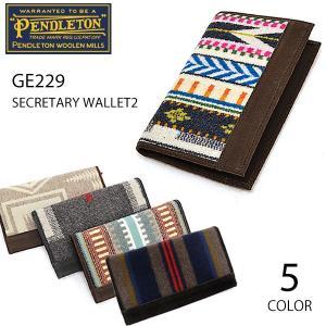 ペンドルトン【PENDLETON】SECRETARY WALLET ウォレット GE229 ネイティブ柄 2つ折り 長財布 プレゼント サイフ カード ペンデルトン 4color bobsstore