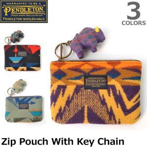 ペンドルトン PENDLETON GZ943 ネイティブ柄 コインケース 小銭入れ Zip Pouch With Key Chain パスケース 小物|bobsstore