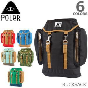 ポーラー POLER RUCKSACK ラックサック バックパック リュックサック 旅行 カバン 鞄 メンズ レディース バッグ ロゴ 6Color|bobsstore