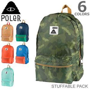 ポーラー POLER STUFFABLE PACK スタファブルパック バックパック バッグ リュックサック 旅行 カバン 鞄 メンズ レディース バ|bobsstore
