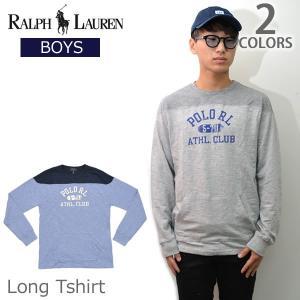 ポロ ラルフローレン /POLO RALPH LAUREN 323671595 ボーイズ ロングTシャツ ロンT 長袖 Tシャツ メンズ CAMP B bobsstore