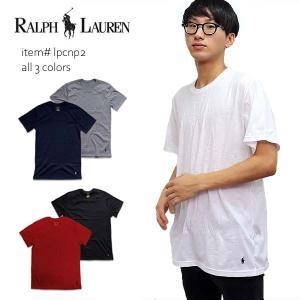 ポロ ラルフローレン【POLO RALPH LAUREN 】2枚セット メンズ Tシャツ クルーネック  ポニー LPCNP2 COTTON COMFORT BLEND|bobsstore