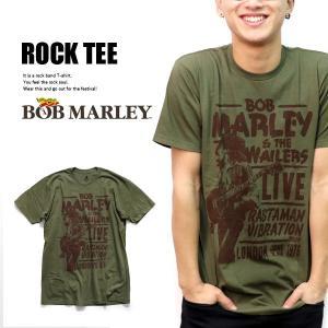 ボブ・マーリー【Bob Marley】1976 TOUR LONDON Tシャツ OLIVE オリーブ ロックT メンズ トップス 半袖 正規品 本物【ネコポス発送のみ送料無料】|bobsstore