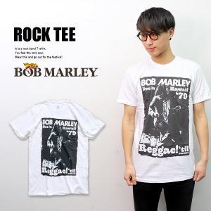 ボブ・マーリー【Bob Marley】1979 live in Hawaii Tシャツ ホワイト ハワイ ツアー ロックT メンズ トップス 半袖 正規品 本物【ネコポス発送のみ送料無料】|bobsstore