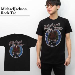 マイケルジャクソン 【MICHAEL JACKSON】 シンプル BLACK ブラック Tシャツ ロックT バンドT ヒップホップ ロゴT 正規品 本物 【ネコポスのみ送料無料】|bobsstore