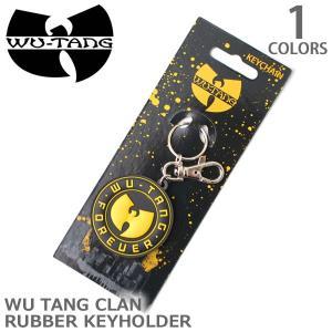 ウータンクラン/WU TANG CLAN  ラバー キーホルダー バンド ロック グッズ キーホルダー 正規ライセンスアイテム 正規品 本物|bobsstore