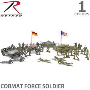 ロスコ /Rothco COBMAT FORCE SOLDIER 兵隊 戦車 おもちゃ 戦い プレイセット ミニチュア 模型