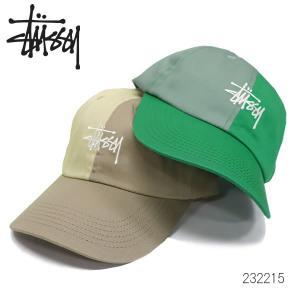 ステューシー【STUSSY】232215 LOUISE TWO TONE LOW PRO CAP キャップ 帽子 フリーサイズ サイズ調整可能 レディース 【ネコポス発送のみ送料無料】|bobsstore