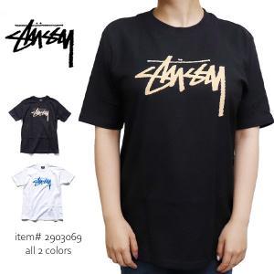ステューシー【STUSSY】2903069 STOCK TEE レディース 女性 半袖 Tシャツ s...