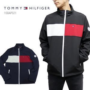 トミーヒルフィガー【TOMMY HILFIGER】158AP521 フルジップジャケット ジャージ 長袖 トップス アウター ジャケット メンズ 耐水 人気 US規格 bobsstore