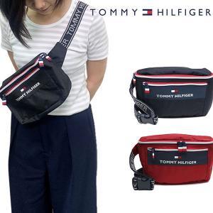 トミーヒルフィガー【TOMMY HILFIGER】TC090CT9 TH CITY TREK 2 WAIST BAG ウエストバッグ ボディーバッグ ウエストポーチ ショルダー 斜め掛け ユニセックス|bobsstore