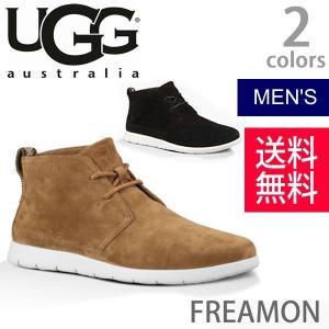 UGG/アグ 正規品 メンズ FREAMON/フリーモン ブーツ カジュアル オーストラリア 1007645 BLK CWHT|bobsstore