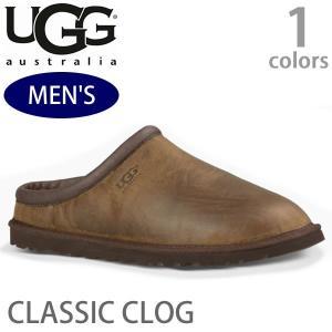 【UGG/アグ】正規品 メンズ CLASSIC CLOG/クラシック クロッグ スリッポン カジュアル オーストラリア 1011413 STOUT|bobsstore