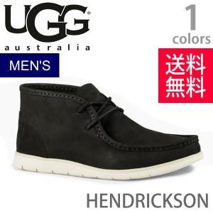 UGG/アグ 正規品 メンズ HENDRICKSON/ヘンドリクソン ブーツ カジュアル レザー オーストラリア 1013990 ブラック|bobsstore