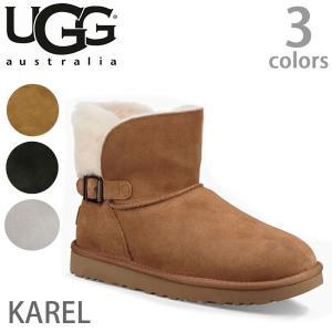 【UGG/アグ】正規品 KAREL/カレル もこもこムートンブーツ ♪アグ クラシック カレル ムートンブーツ Karel 1019639|bobsstore