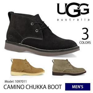【UGG/アグ】正規品 メンズ CAMINO CHUKKA BOOT/カミノチャッカ ブーツ  カジュアル レザー オーストラリア 1097011【送料無料】|bobsstore