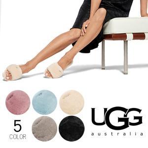 【UGG/アグ】正規品 レディース COZETTE/コゼット シューズ サンダル ファー もこもこ オーストラリア シープスキン 1100892|bobsstore