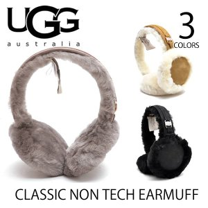 【UGG/アグ】正規品 CLASSIC NON TECH EARMUFF(17398)/クラシックノンテックイヤマフ もこもこ 耳あて イヤマフ/レディース/ シープスキン|bobsstore