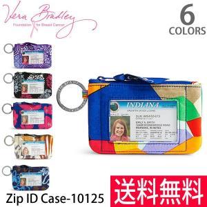 ヴェラブラッドリー【vera bradley】【メール便発送】Zip ID Case IDケース 定期券入れ 小銭入れ パスケース 10125|bobsstore
