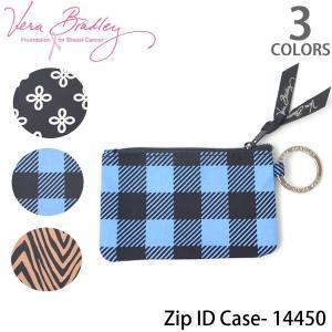 ヴェラブラッドリー【vera bradley】【メール便発送】Zip ID Case IDケース 定期券入れ 小銭入れ パスケース 14450|bobsstore