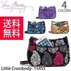 ヴェラブラッドリー【vera bradley】【メール便発送】Little Crossbody 15455 キルティング ショルダーバッグ レディース 小さ目トート|bobsstore