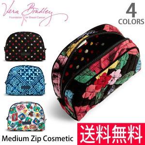 ヴェラブラッドリー【vera bradley】【メール便発送】Medium Zip Cosmetic 15724 ポーチ 化粧ポーチ メイク レディース|bobsstore