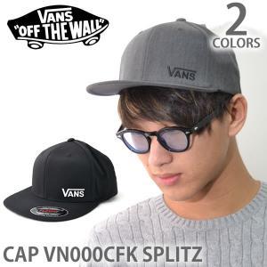 バンズ/VANS キャップ CAP VN000CFK SPLITZ BLACK 帽子 メンズ レディース ユニセックス|bobsstore