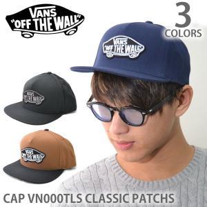 バンズ/VANS キャップ CAP VN000TLS CLASSIC PATCH S BLACK TOFFEE-BLACK スナップバック 帽子 メンズ レディース ユニセックス|bobsstore