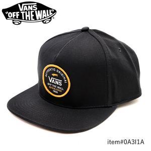 バンズ【VANS】CAP VN0A3I1A SVD ORIGINAL SNAPBACK CAP キャップ 帽子 ロゴ メンズ レディース ユニセックス スナップバック サイズ調整可能 フリーサイズ|bobsstore