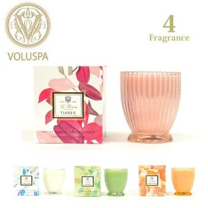 VOLUSPA【ボルスパ】新商品入荷!PETITE BEADED Glass Candle/ヴォルスパ スカラップ アロマ グラス キャンドル セレブ愛用 アンソロポロジー|bobsstore