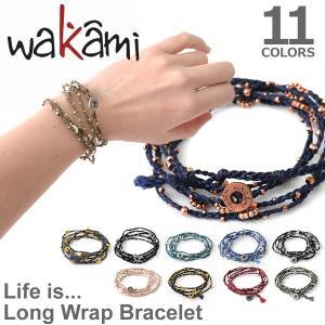 wakami/ワカミ WA0293 Life is what ブレスレット アンクレット 小物 メンズ レディース ユニセックス アクセサリー Bracelet 送料無料 メール便発送|bobsstore