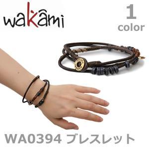 wakami/ワカミ ワカミ WA0394 ユニセックス 小物 メンズ レディース ブレスレット アクセサリー Bracelet ネコポスのみ送料無料 bobsstore