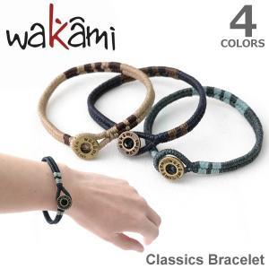wakami/ワカミ WA9531 Classic Bracelet ブレスレット 小物 メンズ レディース ユニセックス アクセサリー Bracelet 送料無料 メール便発送|bobsstore