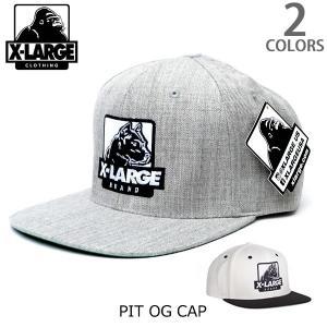 エクストララージ【X-LARGE】PIT OG CAP ロゴ ワッペン CAP 犬 ストリート キャップ メンズ ニューヨーク ロゴ ゴリラ ラージ cap アメリカ 人気 帽子|bobsstore