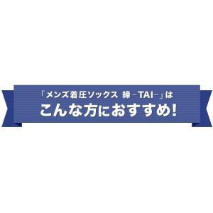 大きいサイズ 着圧ソックス メンズ 締-TAI- (タイ) 膝上 ニーハイ オープントゥ L-LLサイズ|bodycreate|04
