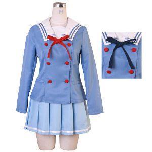 コスプレ ハロウィン 境界の彼方 風 コスチューム一式 4点セット 制服 costume783