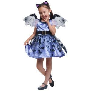 コスプレ ハロウィン コスプレ コスチューム一式 小悪魔 子供用  ハロウィン 衣装 kid118