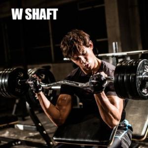 Wシャフト BSW / BODYMAKER ボディメーカー バーベル プレート 重り シャフト パーツ カラー トレーニング用品 筋トレ 筋力 筋肉